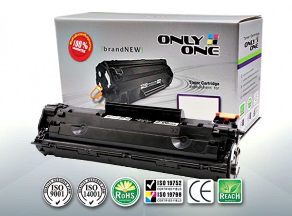 ONLY ONE Toner Cartridge Compatible For HP 83A (CF283A)