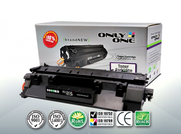 ONLY ONE Toner Cartridge Compatible For HP 80A (CF280A)